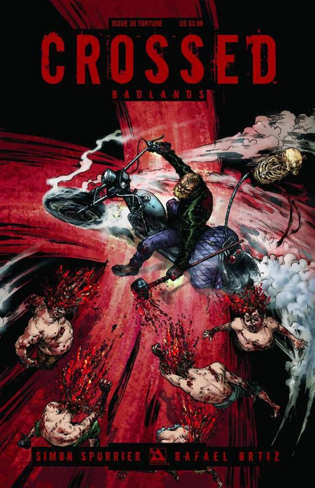 Crossed: Badlands #39 (Torture Cover)