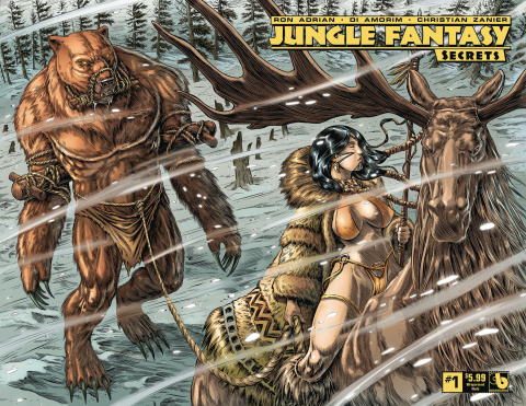 Jungle Fantasy: Secrets #1 (Wrap Cover)