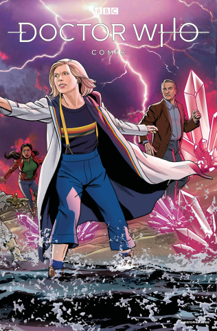 Doctor Who Comics #4 (Jones Cover)