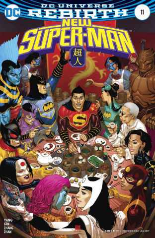 New Super-Man #11 (Variant Cover)