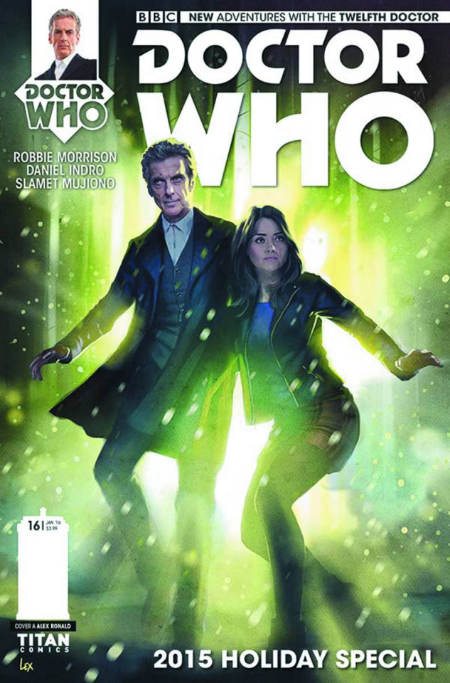 Doctor Who: New Adventures with the Twelfth Doctor #16 (Ronald Cover)