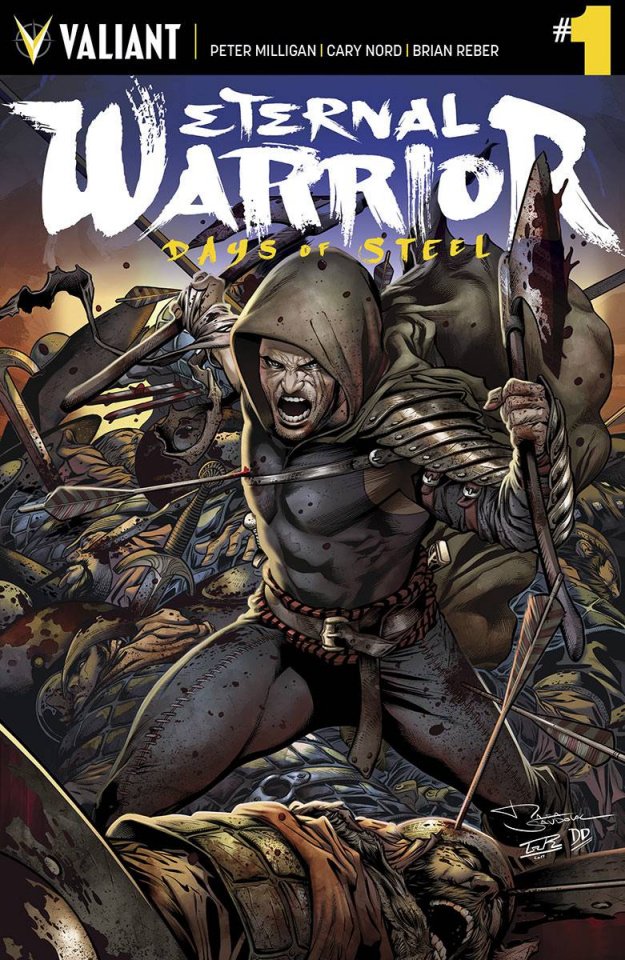 Eternal Warrior: Days of Steel #1 (Sandoval Cover)