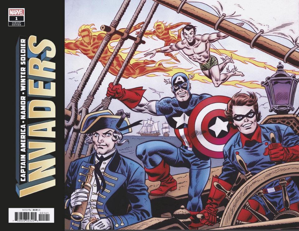 Invaders #1 (Robbins Hidden Gem Cover)