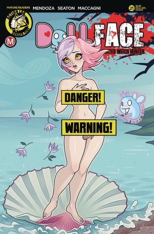 Dollface #21 (Mendoza Real Girl Risque Cover)
