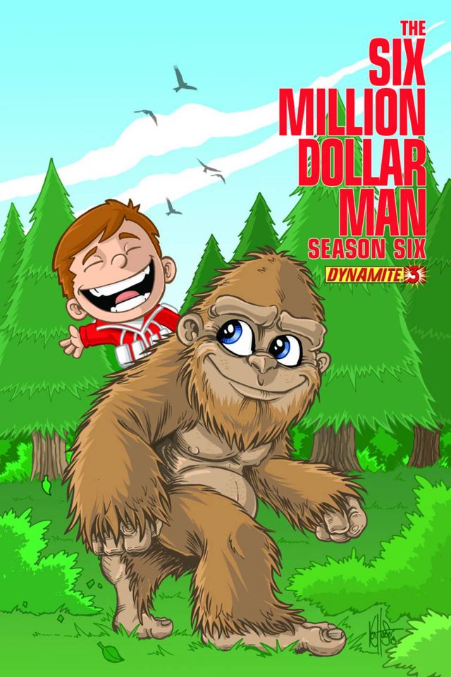 The Six Million Dollar Man, Season 6 #3 (Haeser Cover)