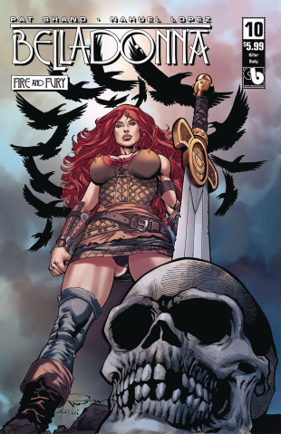 Belladonna: Fire and Fury #10 (Killer Body Cover)