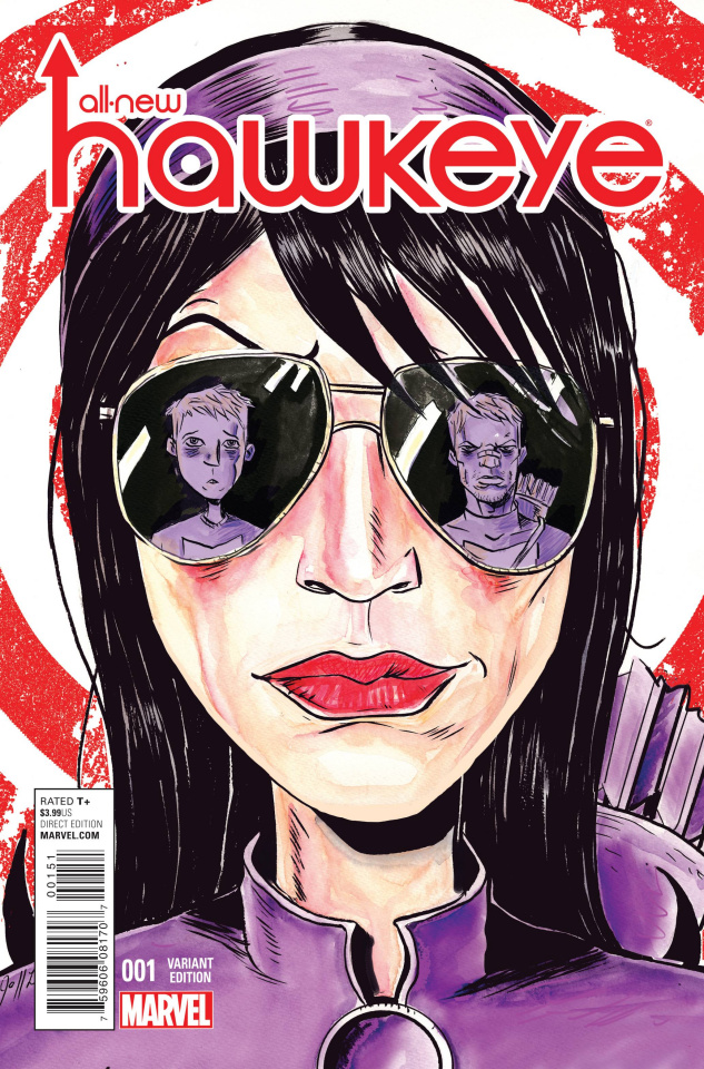 All-New Hawkeye #1 (Lemire Cover)