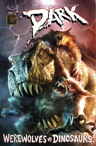 American Mythology Dark: Werewolves vs. Dinosaurs vs. Yetis #2 (Vicious Cover)
