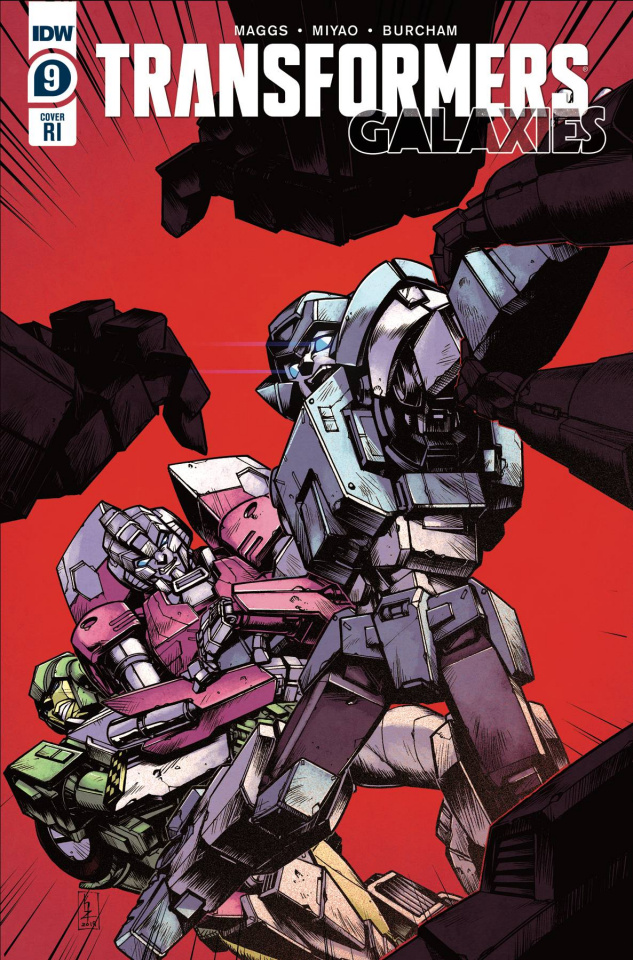 The Transformers: Galaxies #9 (10 Copy Zama Cover)
