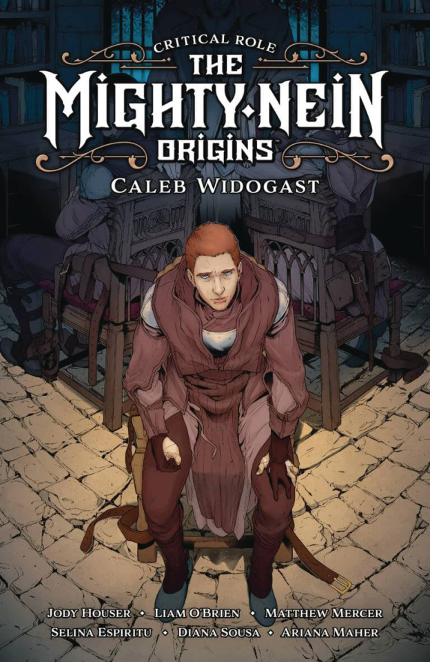 Critical Role: The Mighty Nein Origins - Caleb Widogast