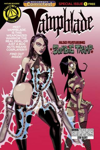 Vampblade Featuring Zombie Tramp (Halloween ComicFest 2015)