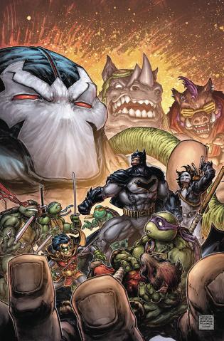Batman / Teenage Mutant Ninja Turtles II #3
