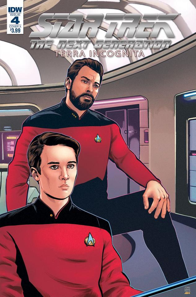 Star Trek: The Next Generation - Terra Incognita #4 (Shasteen Cover)