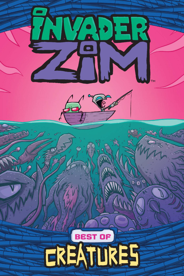 Invader Zim: Best of Creatures Vol. 1 (Wucinich Cover)
