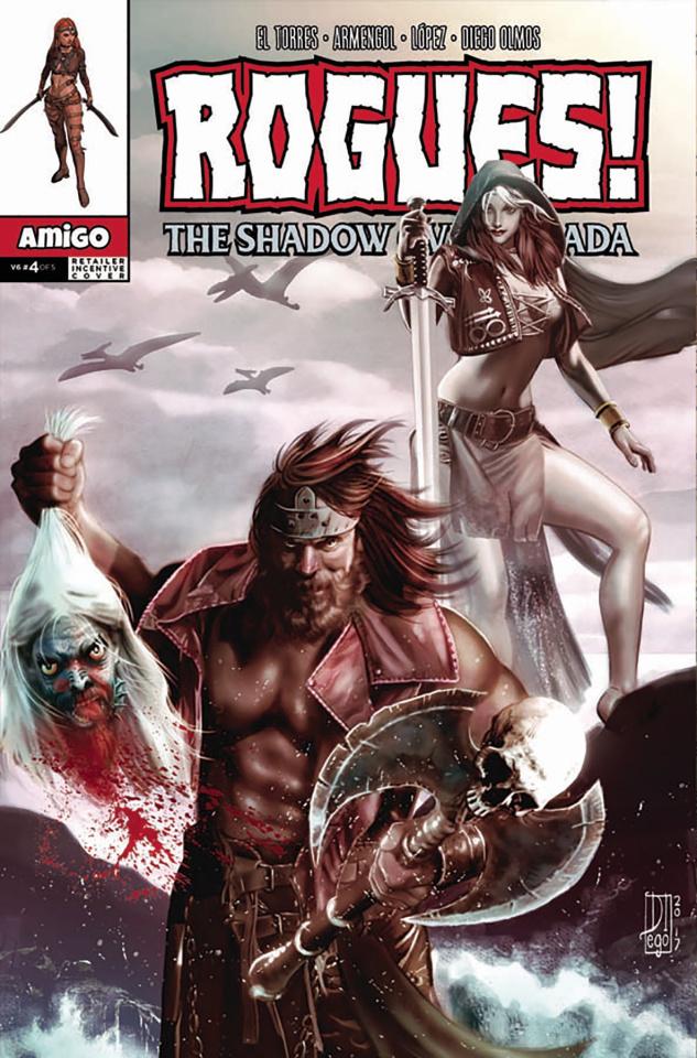 Rogues! The Shadow Over Gerada #4 (10 Copy Retailer Incentive Cover)