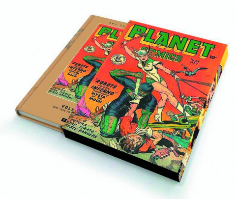 Planet Comics Vol. 12 (Slipcase Edition)