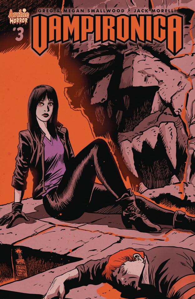 Vampironica #3 (Francavilla Cover)