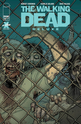The Walking Dead Deluxe #16 (Moore & McCaig Cover)