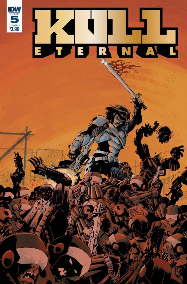 Kull: Eternal #5 (Pizzari Cover)