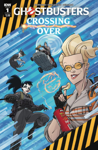 Ghostbusters: Crossing Over #1 (Schoening Cover)