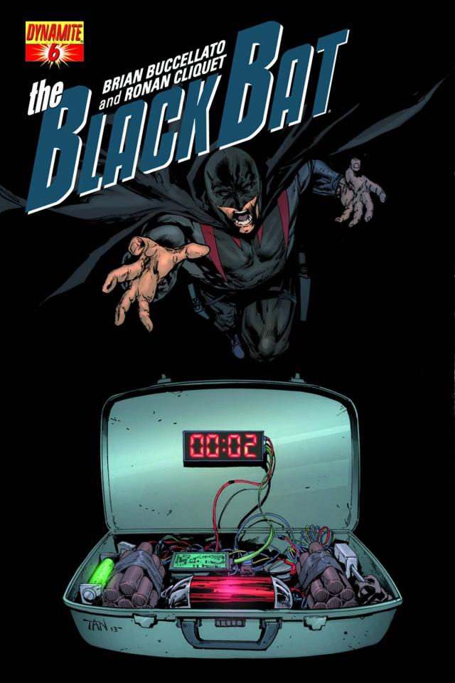 The Black Bat #6 (Tan Cover)