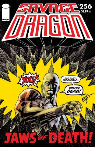 Savage Dragon #256 (Larsen Cover)