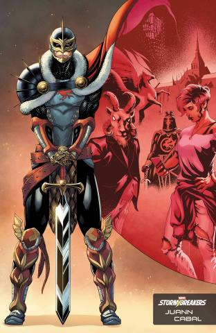 Black Knight: Curse of the Ebony Blade #1 (Cabal Stormbreakers Cover)