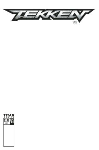 Tekken #1 (Blank Sketch Cover)