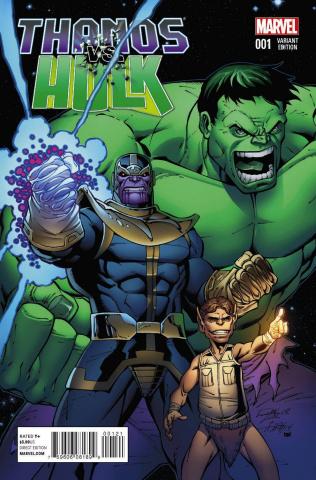 Thanos vs. Hulk #1 (Lim Cover)
