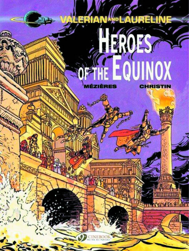 Valerian and Laureline Vol. 8: Heroes of the Equinox