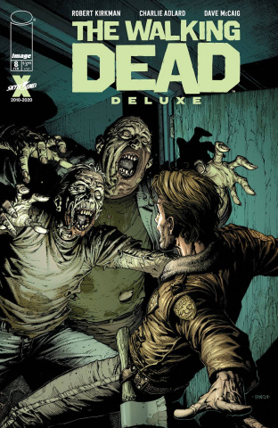 The Walking Dead Deluxe #8 (Finch & McCaig Cover)