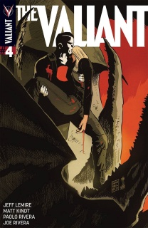 The Valiant #4 (50 Copy Francavilla Cover)