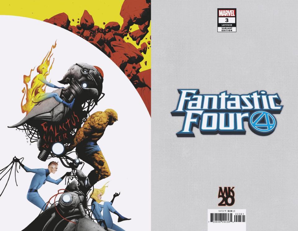 Fantastic Four #3 (Jae Lee MKXX Virgin Cover)