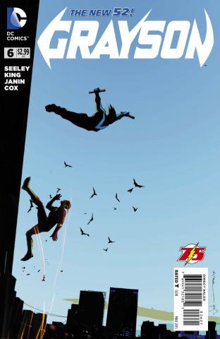 Grayson #6 (Flash Cover)