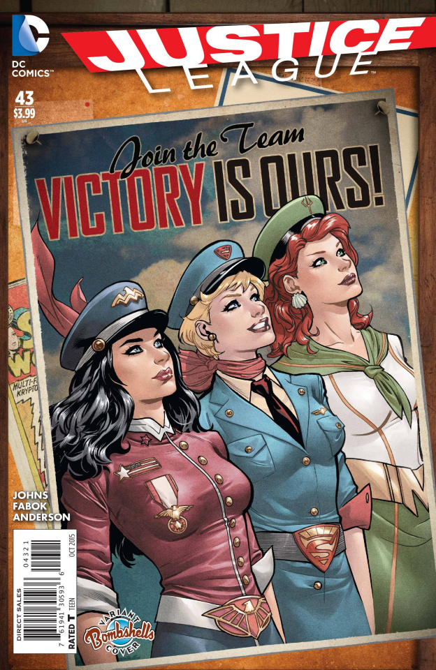 Justice League #43 (Bombshells Cover)
