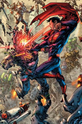 Superman / Wonder Woman #26 (Kim Jung Gi Cover)