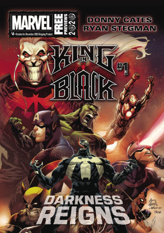 Marvel Previews #6: December 2020 Extras