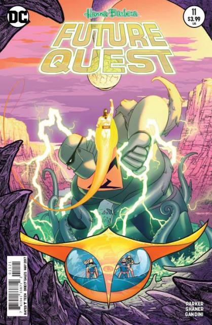 Future Quest #11 (Variant Cover)