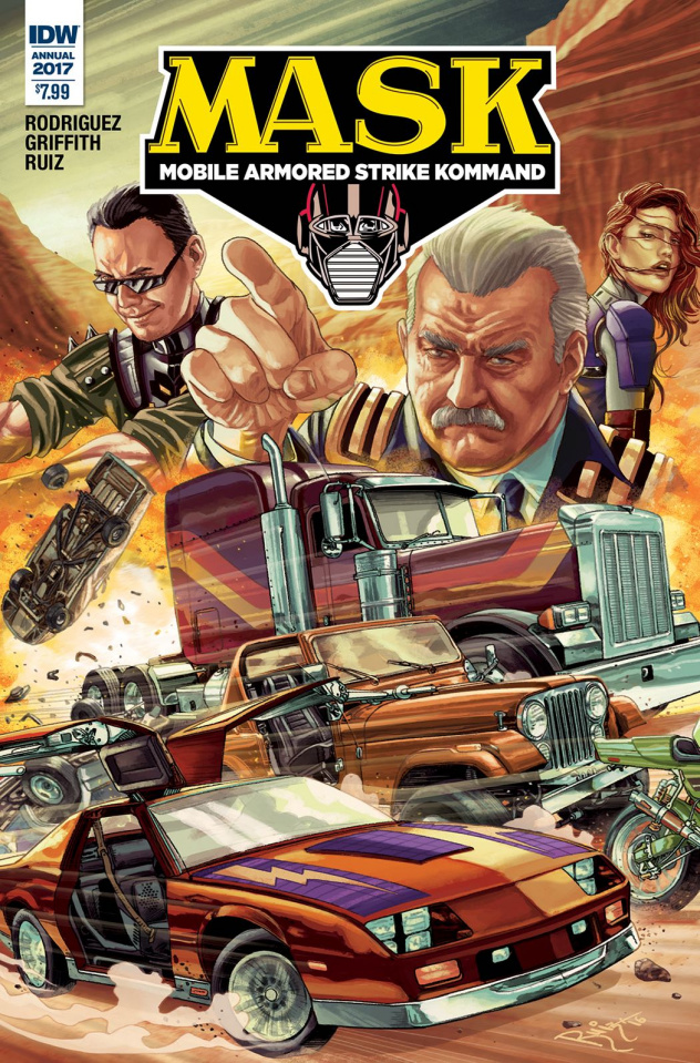 M.A.S.K.: Mobile Armored Strike Kommand Annual #1