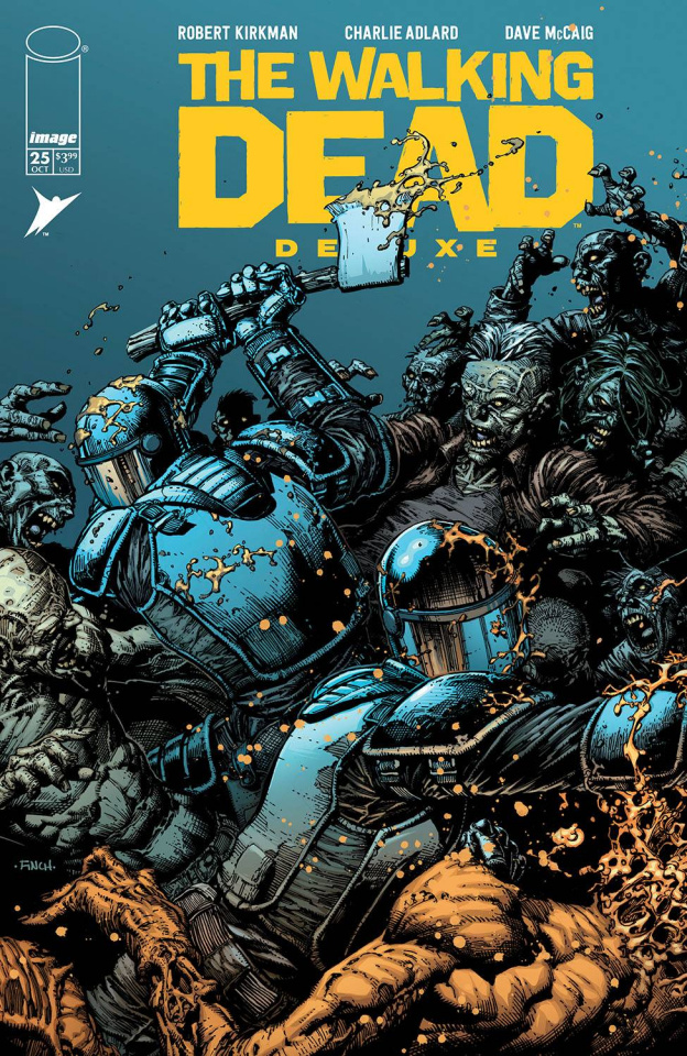 The Walking Dead Deluxe #25 (Finch & McCaig Cover)