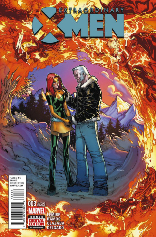 Extraordinary X-Men #3 (Ramos 2nd Printing)