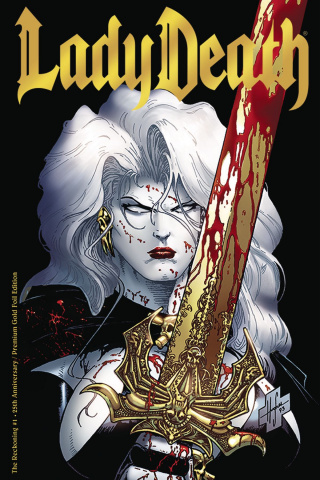 Lady Death: The Reckoning #1 (25th Anniversary Gold Edition)