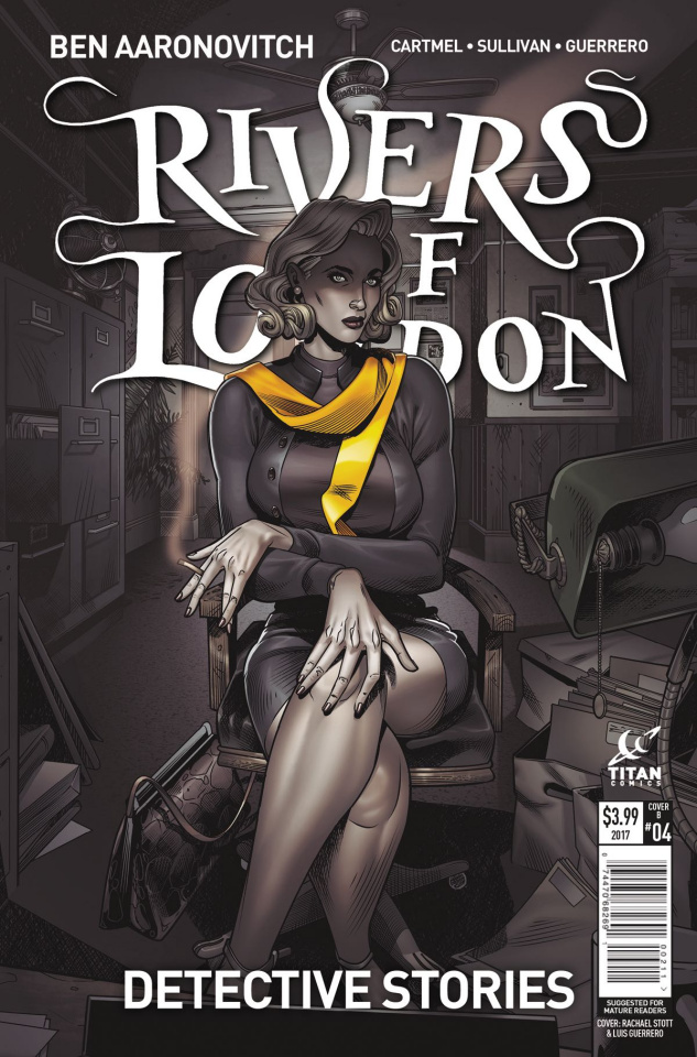 Rivers of London: Detective Stories #3 (Stott Cover)