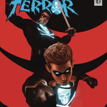 Black Terror #3 (Rahzzah Cover)