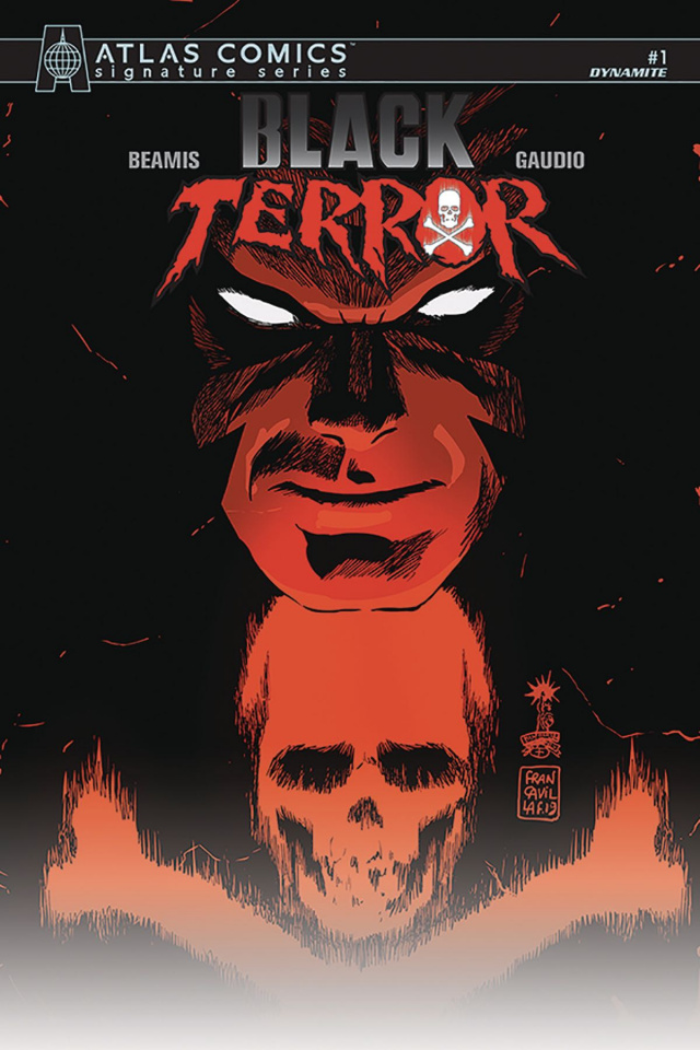 Black Terror #1 (Bemis Atlas Edition)