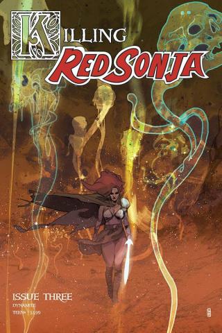 Killing Red Sonja #3 (Ward Cover)