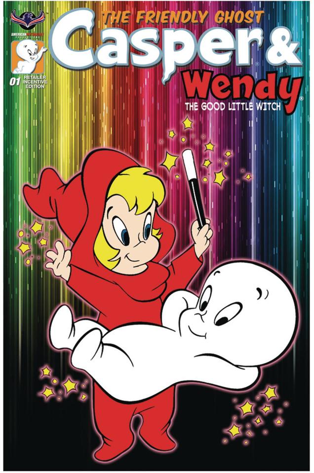 Casper & Wendy #1 (3 Copy Retro Animation Retailer Cover)
