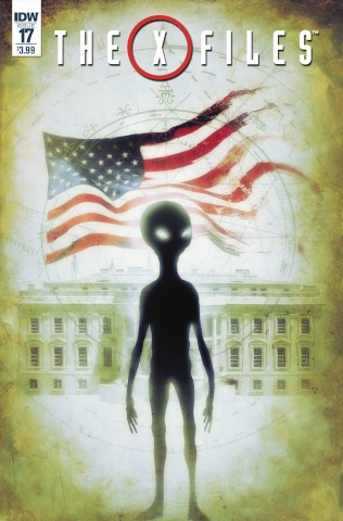 The X-Files #17 (Menton3 Cover)