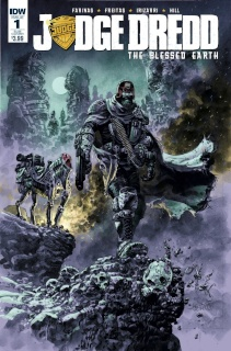 Judge Dredd: The Blessed Earth #1 (Subscription Cover)
