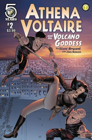 Athena Voltaire and the Volcano Goddess #2 (Bryant Cover)